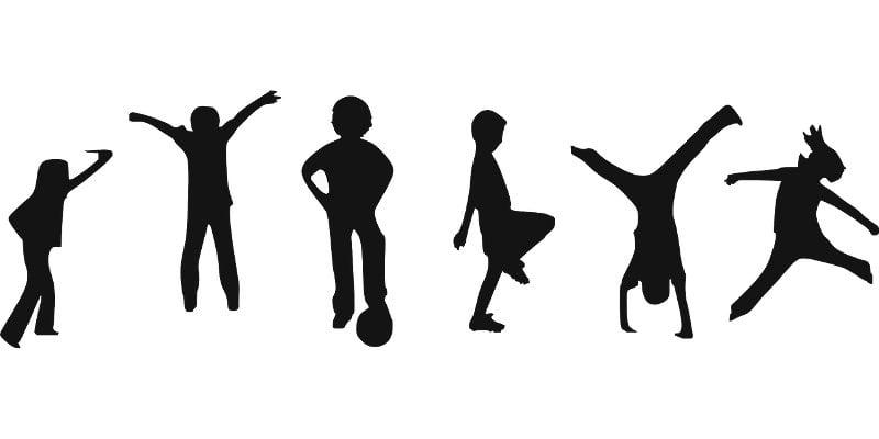 Η γυμναστική στην αναπτυξιακή ηλικία παιδιών 6 και 7 ετών