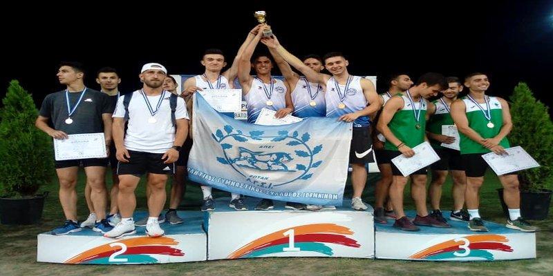 Ο Α.Γ.Σ. Ιωαννίνων Πρωταθλητής Ελλάδος στο Πανελλήνιο Πρωτάθλημα Νέων στη Λάρισα