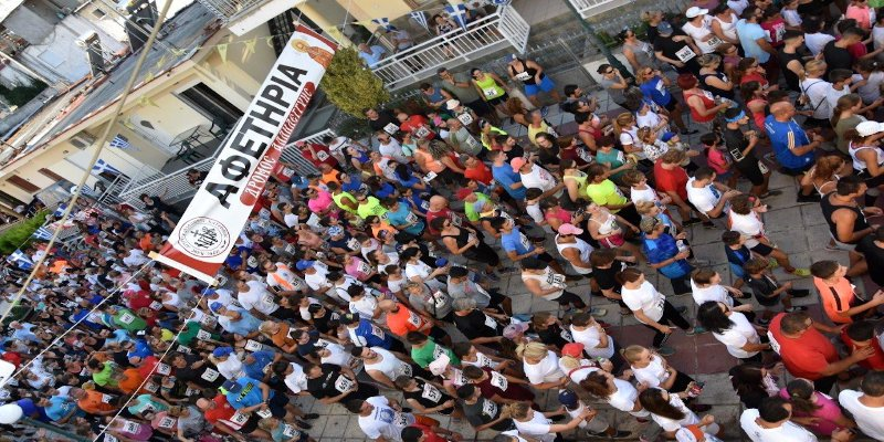 Μεγάλη γιορτή του αθλητισμού και της προσφοράς - 6ος Αγώνας Δρόμου Αλληλεγγύης